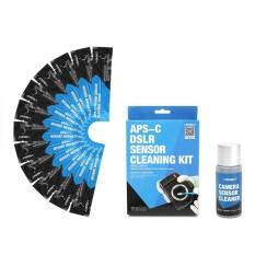 12 Pcs Profesional APS CCD/Sensor CMOS Cleaning Swab Cleaner Kit untuk Kamera DSLR
