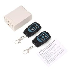 Spek 12V 433Mhz Wireless 4 Channel Relay Rf 2 Remote Control Controller Switch Intl Hong Kong Sar Tiongkok