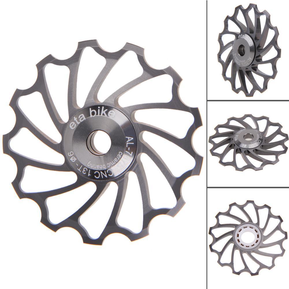 Beli 13 T Mtb Keramik Bearing Jockey Roda Pulley Road Bike Bicycle Rear Deraille Abu Abu Intl Lengkap