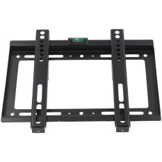 14-42 Inch Uninverdal LCD LED Plasma TV Wall Mount Flat Panel Bracket Stand (Hitam)