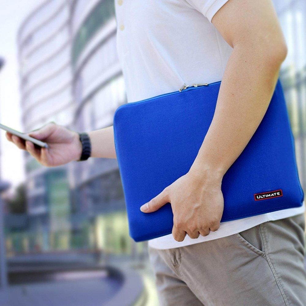 Jual 14 Inch Ultimate Tas Bag Cover Softcase Backpack Laptop Pria Wanita Classic Blue Lengkap