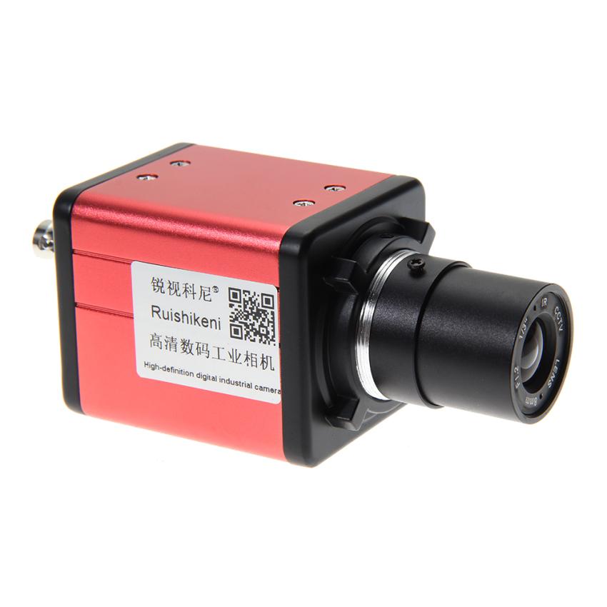 Jual Beli 14 Megapiksel Kamera Digital Mikroskop Industri Bnc Av Tv Video Diperbesar C Mount Lensa