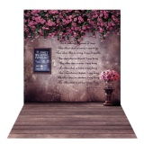 Review Pada 1 5 2M Photography Background Backdrop Digital Printing Flower Wooden Floor Pattern For Photo Studio Outdoorfree Intl
