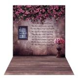 Beli 1 5 2M Photography Background Backdrop Digital Printing Flower Wooden Floor Pattern For Photo Studio Outdoorfree Intl Yang Bagus