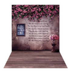 Beli 1 5 2M Photography Background Backdrop Digital Printing Flower Wooden Floor Pattern For Photo Studio Outdoorfree Intl Murah Tiongkok