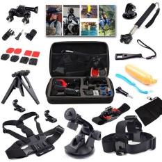 Pusat Jual Beli 15 In1 Aksesoris Kit Dengan Tas Untuk Pergi Pro Hero Gopro5 4 3 3 2 Sj4000 Sj5000 Sj6000 Intl Tiongkok