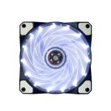 Jual 15 Memimpin 12 V Cahaya Neon Cukup Kipas Pendingin Komputer Kasus Mod Putih Online