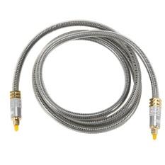 Ulasan Tentang 1 5 M Digital Optical Audio Cable Fiber Optic Cable Od8 Toslink Cable Intl