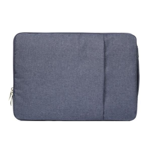 Situs Review 15 4 Inch Universal Fashion Lembut Laptop Denim Tas Portable Zipper Notebook Laptop Case Pouch For Macbook Air Pro Lenovo And Laptop Lainnya Ukuran 39 2X28 5X2 Cm Dark Blue