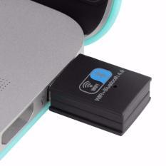 Harga 150 Mbps Mini Usb Wifi Bluetooth 4 Usb Dongle Combo Dukungan Xbox Raspberry Pi Hitam Intl Oem