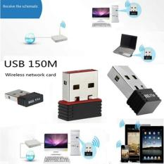Spesifikasi 150Mbps Wireless Wifi Adapter Wifi Antenna Lan Wireless Network Card Portable Usb Wifi Receiver Adaptador Wifi 802 11B G N Intl Bagus