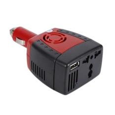 Spesifikasi 150W 12V Dc To Ac 220V 110V Usb Car Power Inverter Charger Adapter Convertor Intl Yg Baik