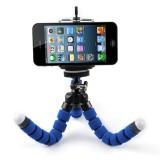 Jual 15 Cm Gurita Tripod Fleksibel For Kamera Smartphone Biru Murah Tiongkok