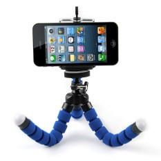 Beli 15 Cm Gurita Tripod Fleksibel For Kamera Smartphone Biru Oem Dengan Harga Terjangkau