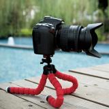 Harga 15 Cm Gurita Tripod Fleksibel Untuk Kamera Smartphone Merah New
