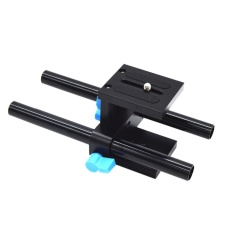 Beli 15Mm Rail Rod Support System Baseplate Mount For Dslr Mengikuti Fokus Rig Matt Di Hong Kong Sar Tiongkok