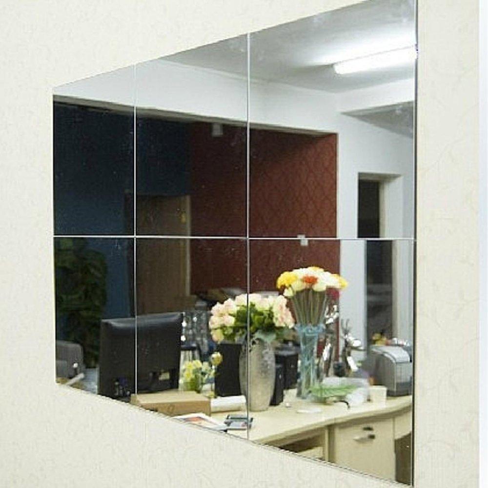 Promo 16 Pcs Kamar Mandi Square Dapat Dilepas Ve Mosaik Ubin Cermin Dinding S Tickers Rumah Dekorasi Intl Akhir Tahun