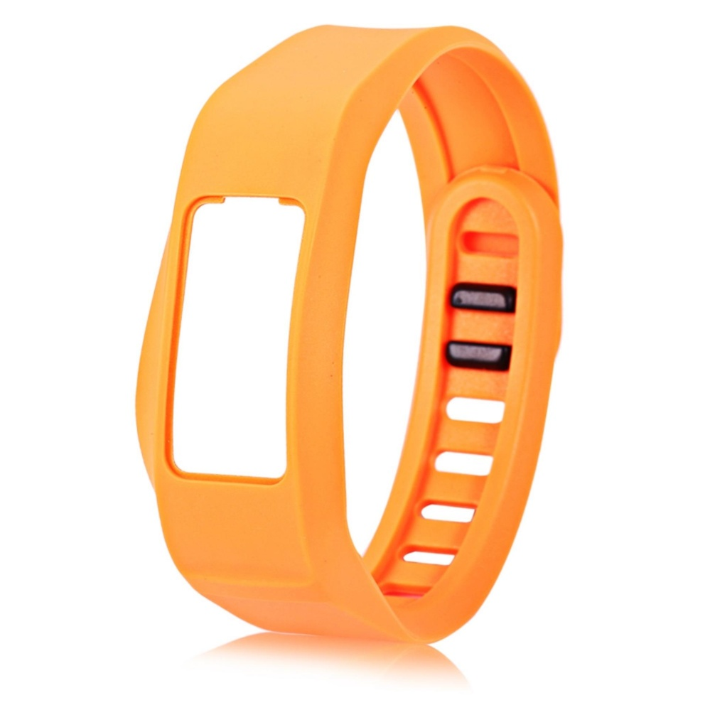 16mm Silicone Band Strap Buckle Wristband for Garmin vivofit2 Sports Bracelet - intl