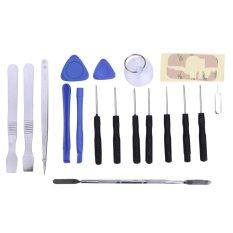 Harga 18 In1 Mobile Repair Opening Tools Kit Set Obeng Pry Intl Oem Ori