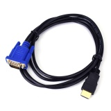Diskon 1 8 M Hdmi Male To Vga Female Video Converter Adaptor Kabel Untuk Pc Dvd 1080 P Hdtv Internasional Oem Hong Kong Sar Tiongkok