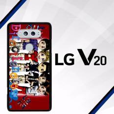 1D fan art D0019 LG V20 Case