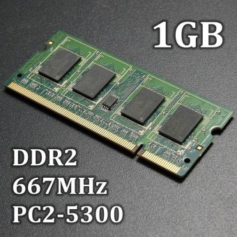 1 GB DDR2 667 MHz PC2-5300 5300 S Laptop Memory Stick 200 Pin Cl5