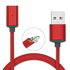 Toko Jual 1M Cable For Micro Usb V8 Charging Magnetic Adapter Charger For Smart Phone Tablet Intl