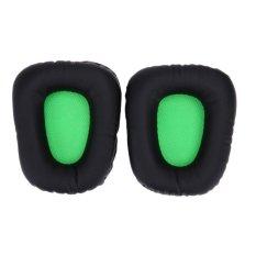 1 Pasang Penggantian Bantalan Telinga untuk Razer Electra Gaming PC Musik Headphone-Intl