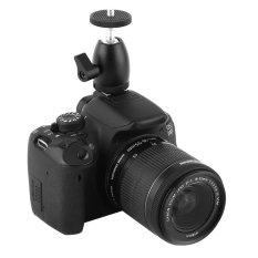 Rp 108.000 1 PC Paduan Aluminium Hitam 360 ° mini Kamera Cradle Tripod Ball Head dengan Dudukan Pengilap Mount Spanner-IntlIDR108000