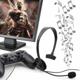 Beli 1Pc Black Over Ear Wired Earphone Headphones Gaming Headset For Pc Video Game Gamer For Playstation For Ps4 With Vol Intl Online Tiongkok