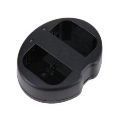 1Pc LP-E6 Dual Port USB Camera Charger