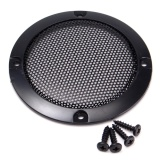 Spek 1 Pcs 3 Inch Black Audio Speaker Cover Lingkaran Dekoratif Metal Mesh Grille Hitam Intl Not Specified