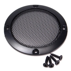Top 10 1 Pcs 3 Inch Black Audio Speaker Cover Lingkaran Dekoratif Metal Mesh Grille Hitam Intl Online