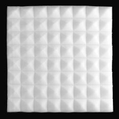 Harga 1 Buah Busa Kedap Suara Akustik Studio Rekaman Suara Menghentikan Penyerapan Pyramid Busa Putih Internasional Fullset Murah