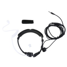 1Pin 3 5Mm Jari Ptt Earpiece Terselubung Air Headset Tenggorokan Mic Untuk Cellp Intl Diskon Indonesia