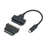 Toko 1 Set Usb 3 1 Type C Untuk Sata 22Pin Sata Ke 16Pin Micro Sata Adaptor Untuk 1 8 2 5 Hard Disk Driver Terlengkap