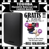 Beli 1Tb Hdd Toshiba Canvio Basic Harddisk External Black Gratis Hard Case Antishock Shockproof Usb Otg Reader Mini Yang Bagus