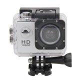 Beli 2 Hd 1080 P Tahan Air Aksi Camcorder Olahraga Dv Kamera Perak Intl Online