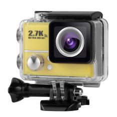 2.0 Inch LCD 2.7 K 30FPS Ultra-hd 1080 P 60FPS 14MP Wifi Cam Action Camera Dukungan untuk HDMI Av-out FPV 170Â ° Lensa Wide-Angle dengan Menyelam 45 Meter