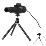 Spesifikasi 2 Megapiksel Kamera 20 X Smart Digital Mikroskop Teleskop Hitam Internasional Yang Bagus Dan Murah