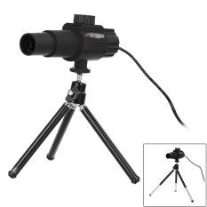 Harga 2 Megapiksel Kamera 20 X Smart Digital Mikroskop Teleskop Hitam Internasional Baru
