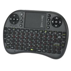 2, 4g Mini Keyboard Nirkabel Versi Jerman Bawah TouchPad And Udara Terbang Remote For Mengendalikan Tikus Android Jendela TV Kotak Ponsel Pintar