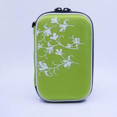 Review Toko 2 5 Inch Universal External Hard Drive Disk Usb Kabel Carry Case Cover Bag Pouch Dengan Pola Bunga Untuk Pc Tablet Hijau Intl