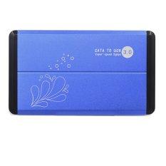 Harga 6 35 Cm Usb 3 Untuk Sata Hdd Hd Eksternal Hard Disk Pagar Penutup Case Kotak For Notebook Desktop With Kabel Usb Kantong Penyimpanan Menunjuk Kepala Kerucut Biru Termahal