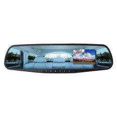 Harga 2 8 Hd Penuh 1080P Dvr Kaca Cermin Mobil Otomatis Kamera Perekamvideo Cam Dasbor Biru Oem Terbaik