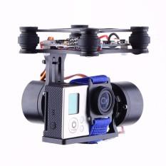 Ulasan 2 Axis Cnc Aluminium Brushless Kamera Mount Gimbal Kit Untuk Gopro Fpv Dji Phantom Intl