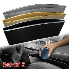 Promo 2 × Tangkap Penangkap Box Organizer Holder Kotak Caddy Car Seat Gap Slit Pocket Penyimpanan Intl Oem