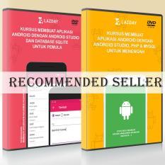 Beli 2 Dvd Tutorial Pembuatan Aplikasi Android Dengan Android Studio Paket 2 Online Murah