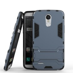 2 In 1 Dual Layer Perlindungan Hybrid Rugged Shockproof Case Pelindung Tubuh Penuh Cover Hard Shell Cover dengan Kickstand untuk LG Stylo 3/Stylo 3 Plus-Intl