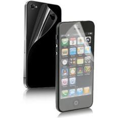 2 Dalam 1 (Depan Layar + Sampul Belakang) anti Glare LCD Layar Pelindung untuk iPhone 5 (Taiwan Bahan)-Internasional